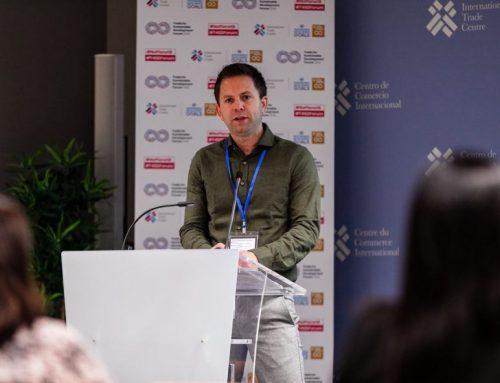 Presentatie duurzaamheidsstrategie tijdens Trade for Sustainable Development Forum