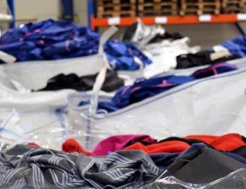 Company Fits recyclet deze maand 2100 kg aan gebruikte bedrijfskleding