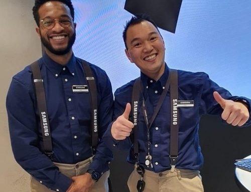 Company Fits steekt medewerkers Samsung Experience Store in nieuw jasje