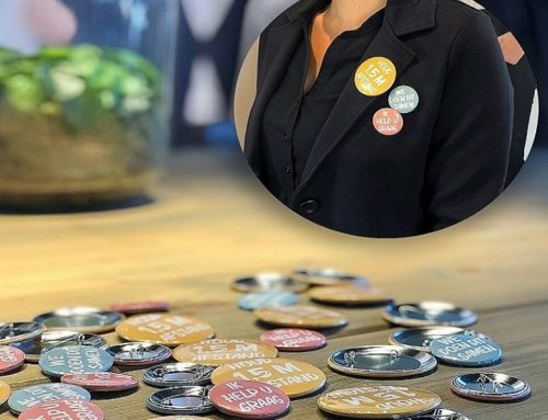 Company Fits levert zomerse 1,5 m afstand buttons uit