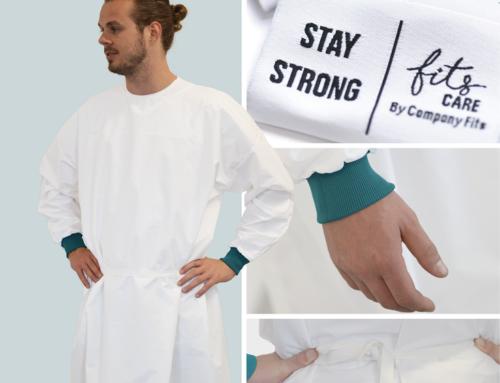 Uitlevering re-usable isolatiejassen voor de zorghelden