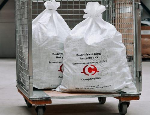 Company Fits recyclet gebruikte bedrijfskleding Achmea